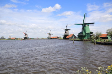 Amsterdam wind mills