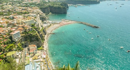 Exotic Coastline Coast Aerial Town Vacation Holiday View Heaven