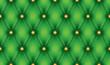 Green luxury quiltn vector seamless pattern