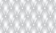 White luxury quiltn vector seamless pattern