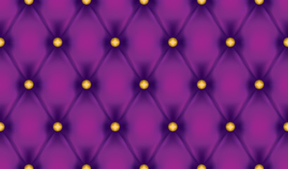 Violet luxury quiltn vector seamless pattern
