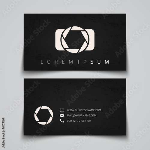 Business card template - 76477109