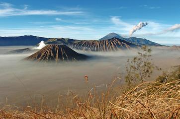 Mount Bromo volcanoes