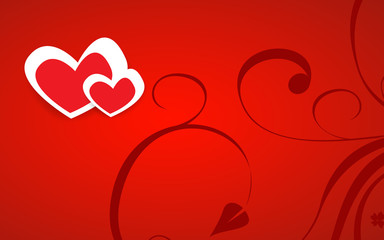 Gift card. Happy Valentine's Day. Vector1