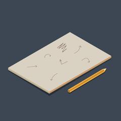 Isometric vector copybook