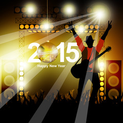 New year music show