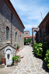 Greece - Insel Lesbos - Kloster Ipsilou