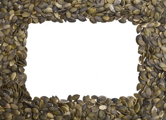Pumpkin Seeds Frame