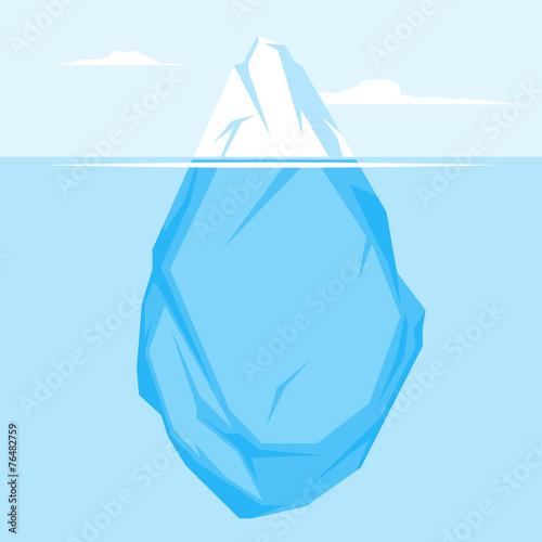 Pełna góra lodowa