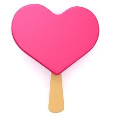 Valentine's ice cream