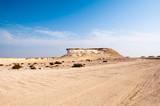 The Zekreet desert, Qatar
