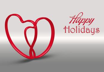 Valentine s Day 3D Heart