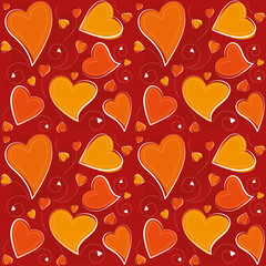 Valentine's Day Seamless Background