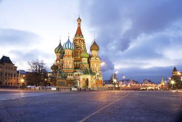 Москва. Храм Василия Блаженного.