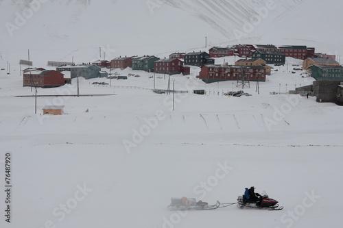Longyearbyen auf Spitzbergen