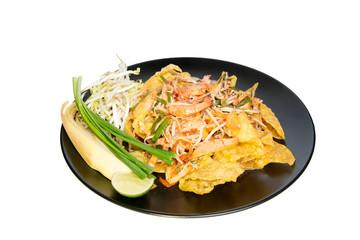 Fried dumplings with shrimp in padthai style
