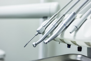 Set of dentist equipment