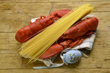 Homarus americanus American lobster Astice Amerikanische Hummer