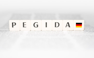 Pegida Buchstaben