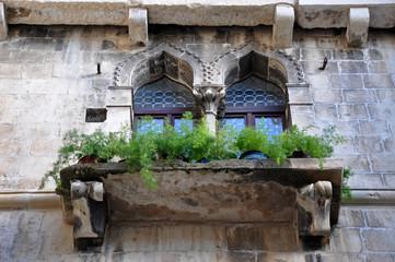 Ancient Venetian windows