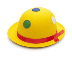 Gelber Clownhut