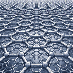 Graphene sheets model , Nanotechnology