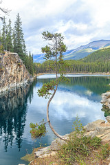 Horseshoe Lake in Jasper National Park