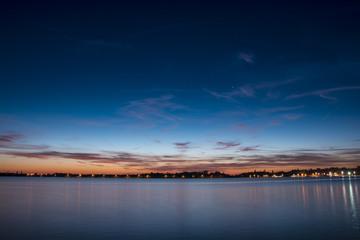 Sunset on Palic