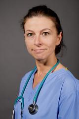 Smiling Nurse/Doctor