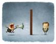 boss and employee communication - 76494563