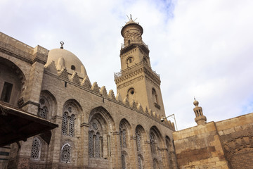 The mosque of Sultan al-Nasir Muhammad ibn Qalawun