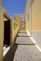 Santorini, Fira, architektura greckich wysp