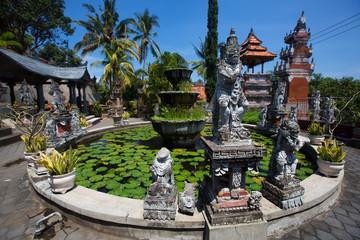 Bali landmark - buddhist temple of Banjar.