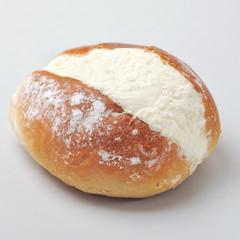 Maritozzo - italian pastry with whipped cream