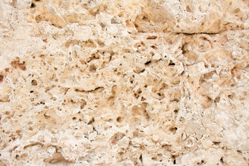 Limestone texture in Colonial Wall Construction