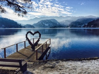 Heart, Bled Lake, Slovenia