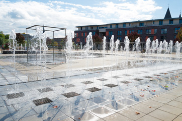 street fountains
