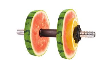 Fruit dumbbells