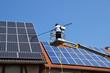 Leinwanddruck Bild - Solar Reinigung