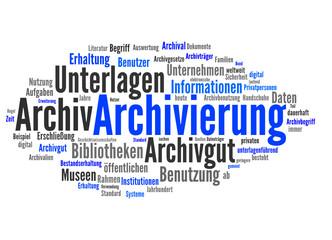 Archivierung (Archiv, Dokumentation)
