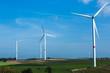 canvas print picture - Windenergie
