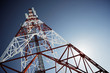 canvas print picture - Telecommunications tower