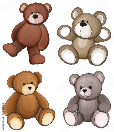 Teddy bears - 76502326