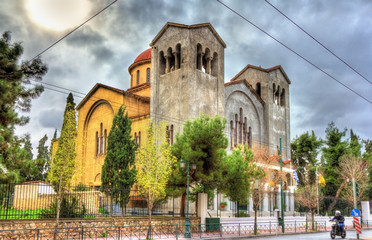 Church of Holy Trinity in Athens - Greece