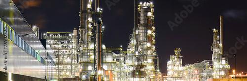 Raffinerie - Chemiewerk // Refinery - chemical plant - 76502524