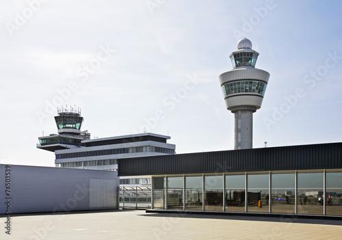 Leinwanddruck Bild Amsterdam Airport Schiphol. Netherlands