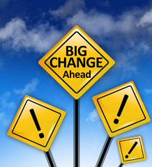 The next big change ahead