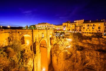 Ronda, Spain Old Town and Puente Nuevo Bridge