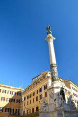 Column of the Immaculate Conception in Piazza Mignanelli, Rome