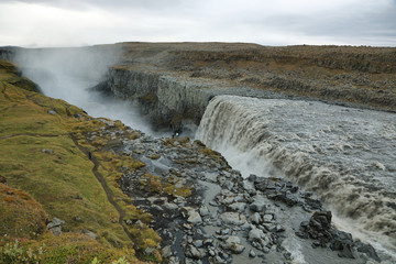 Detifoss waterfall in Iceland